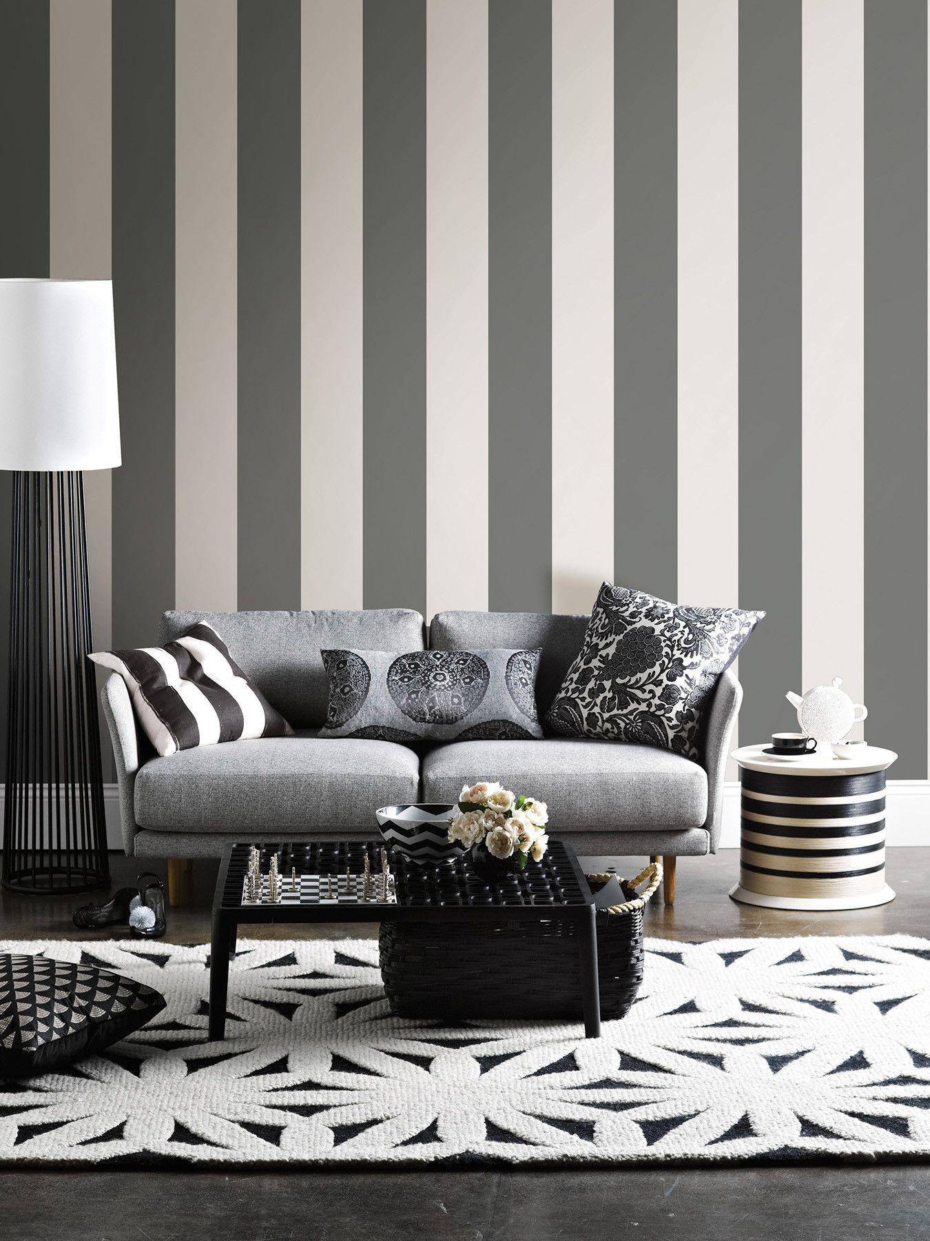 Dots Blox Stripes Wall Decal & Dots Blox Stripes Wall Decal | Striped walls Wall decals and Walls