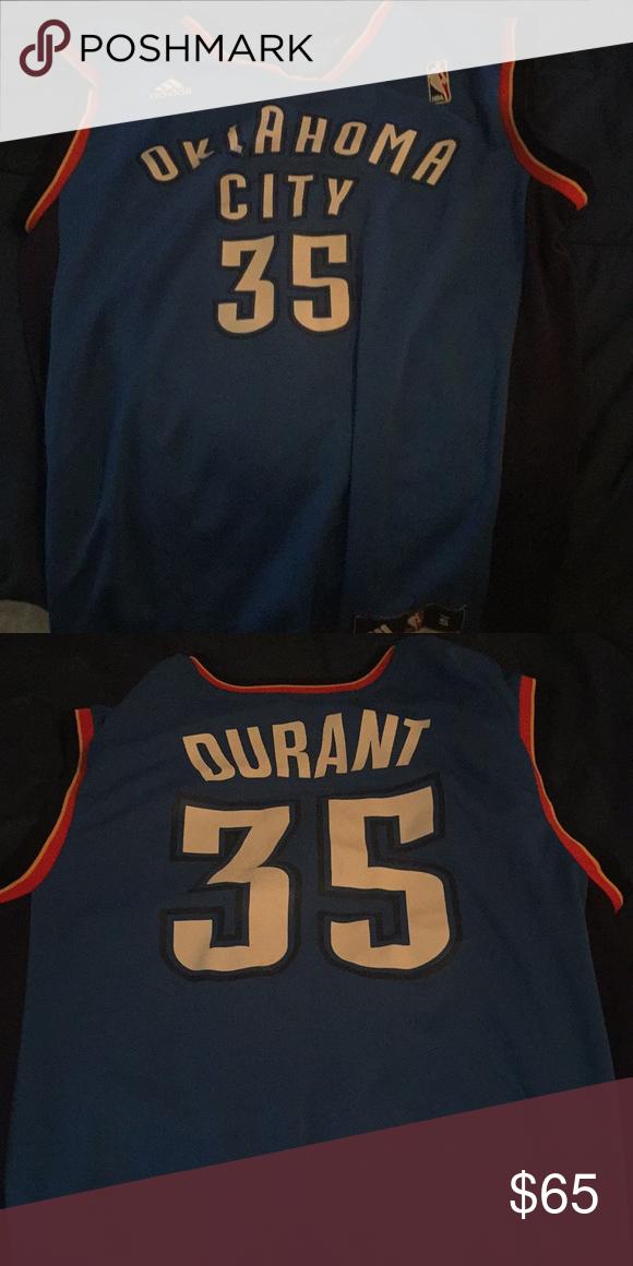 e6a91cc76ecb Kevin Durant Oklahoma Thunder Jersey Kevin Durant s old team adidas Shirts