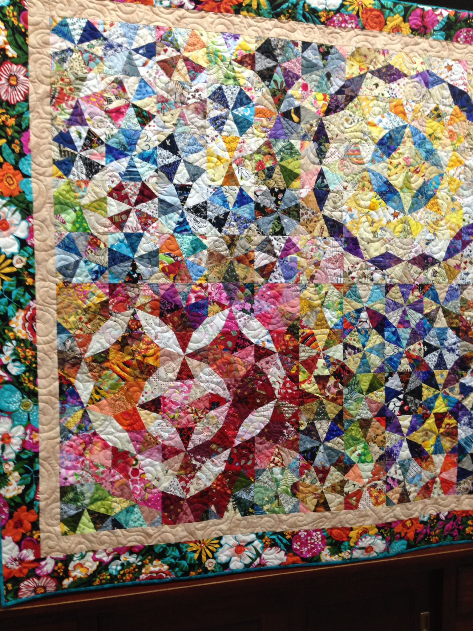 Seen at Pioneer Quilters show 4/2014