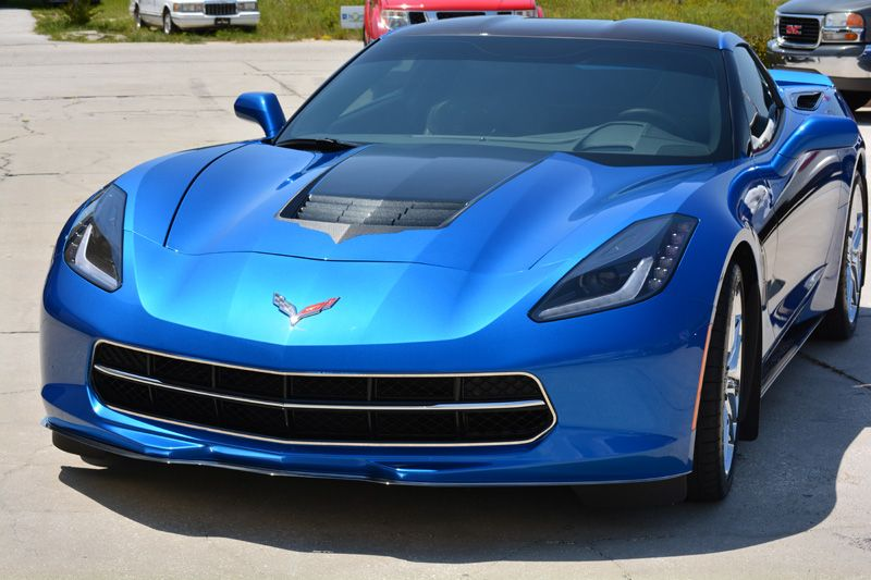 2014 Laguna Blue C7 Corvette Stingray American Car Craft