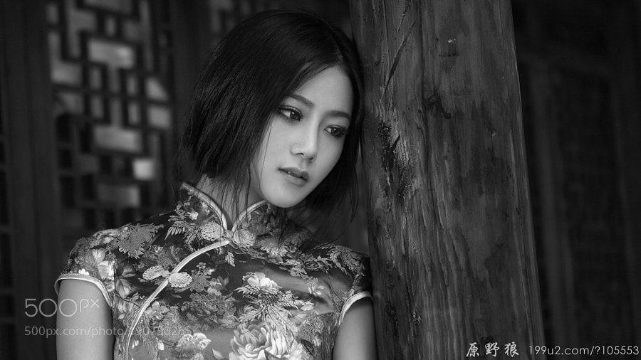 每逢佳节倍思亲(黑白) by yuanyelang