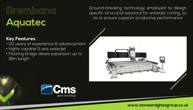 CMS #Brembana #Aquatec #Glass #Machinery #Specific