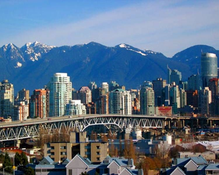 Vancouver, Canada. I'd like to go as a tourist, not a missionary