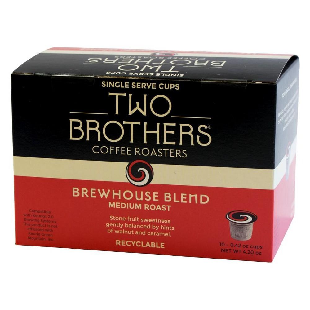 Two Brothers Brewhouse Blend Keurig KCups 10ct Coffee