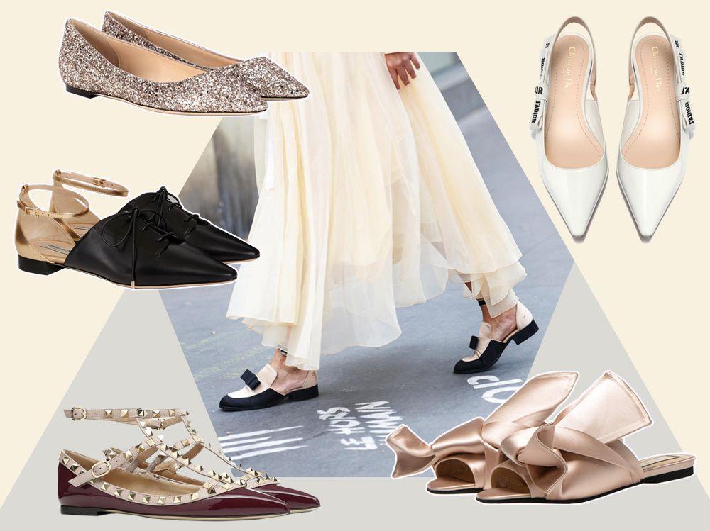 d0deb1412b Ecco le scarpe basse eleganti più chic di stagione: dalle ballerine