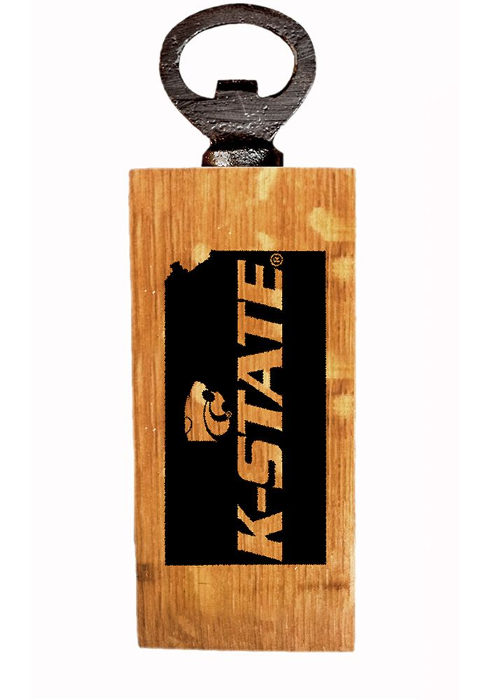 Wildcats Wood Bottle Opener
