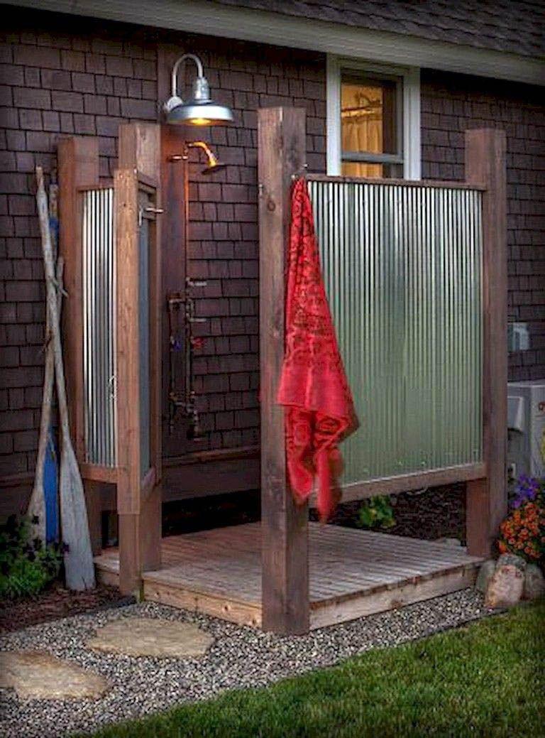 Nice Outdoor Shower Ideas Pinterest To Refresh Your Home Outdoor Bathroom Design Outdoor Toilet Outdoor Bathrooms