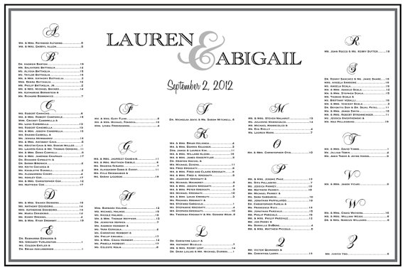 Items similar to wedding seating chart table assignments reception large poster template on etsy also hey  found this really awesome listing at http rh pinterest