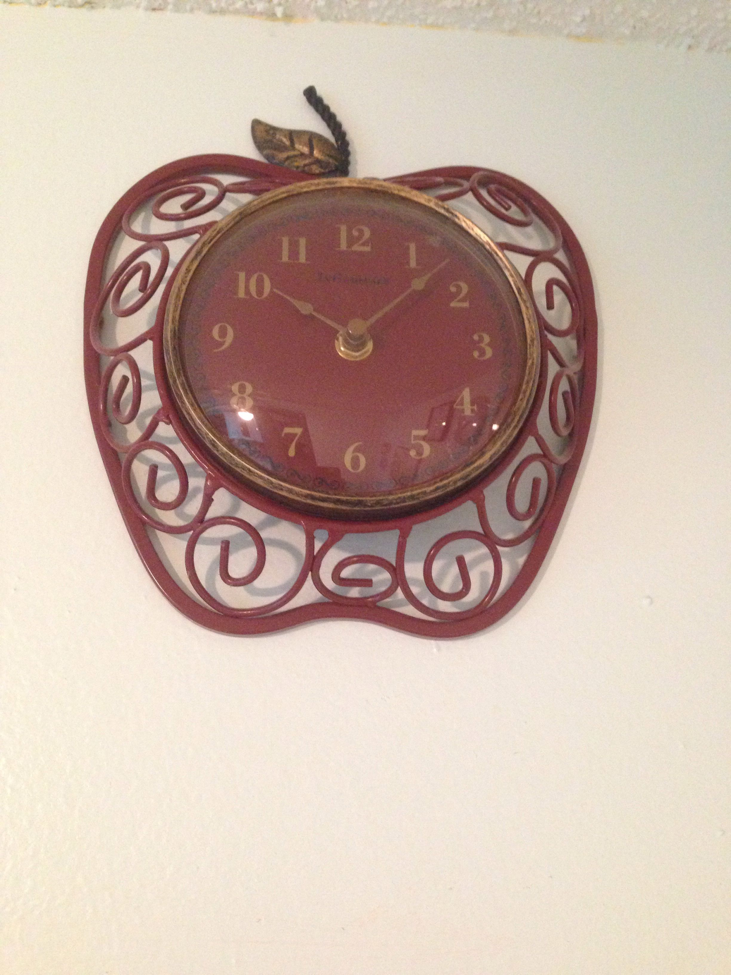 Apple clock for the teacher!! Bracelet watch