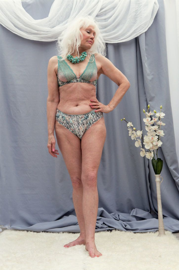 photographer breathes glamour back into a pensioner's life with racy