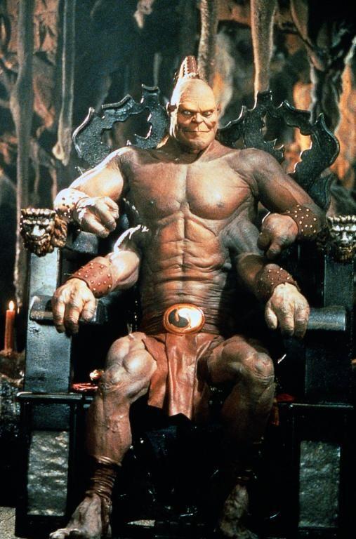 mortal kombat movie goro fight