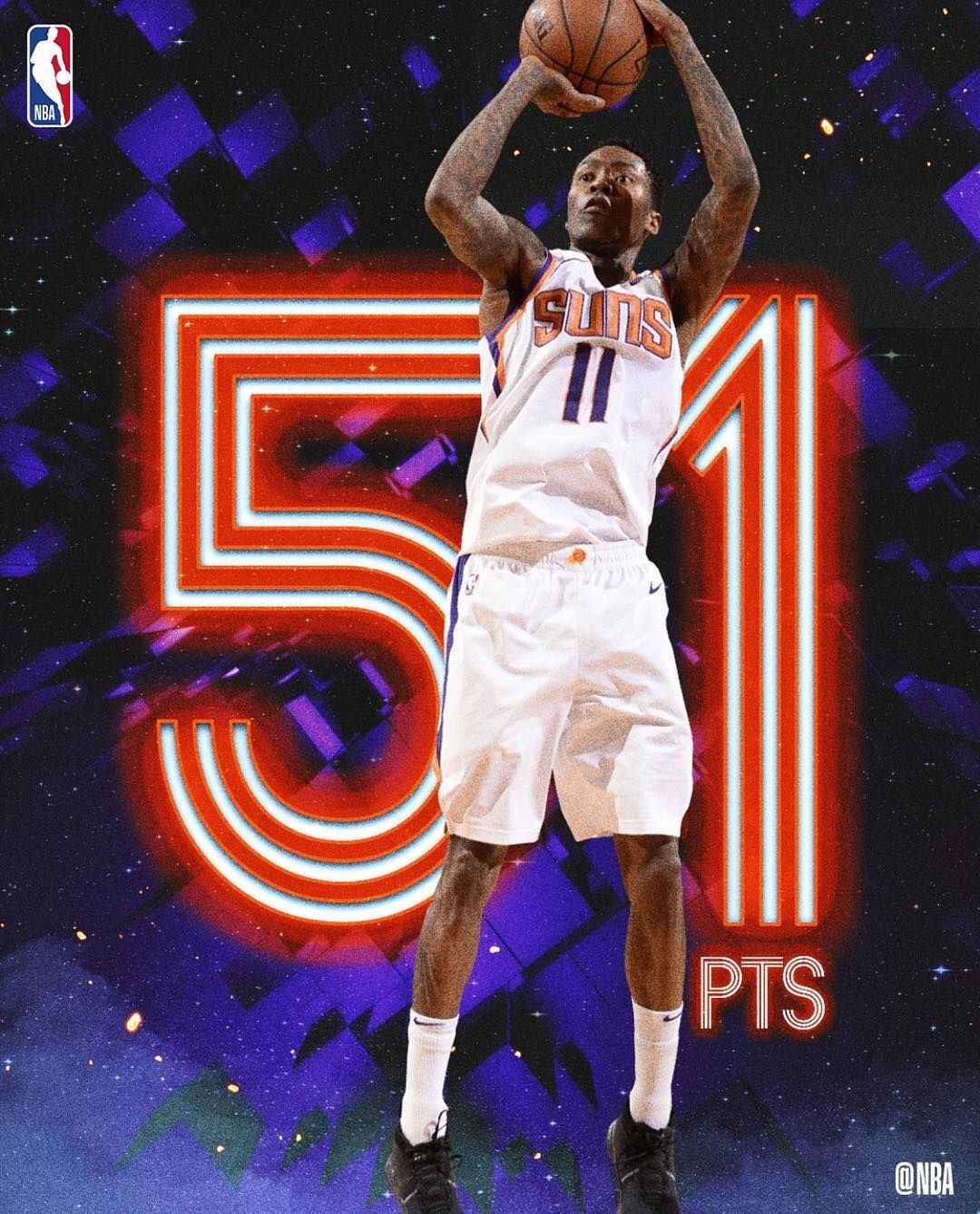 At 39 Years 20 Days Old Jamal Crawford Became The Oldest Player In Nbahistory To Score 50 With 51 For The Suns Tonight Tv Sport Ballislife Jamal