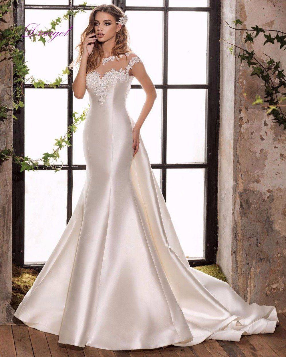 Item Type Wedding DressesTrain Detachable TrainBuiltin