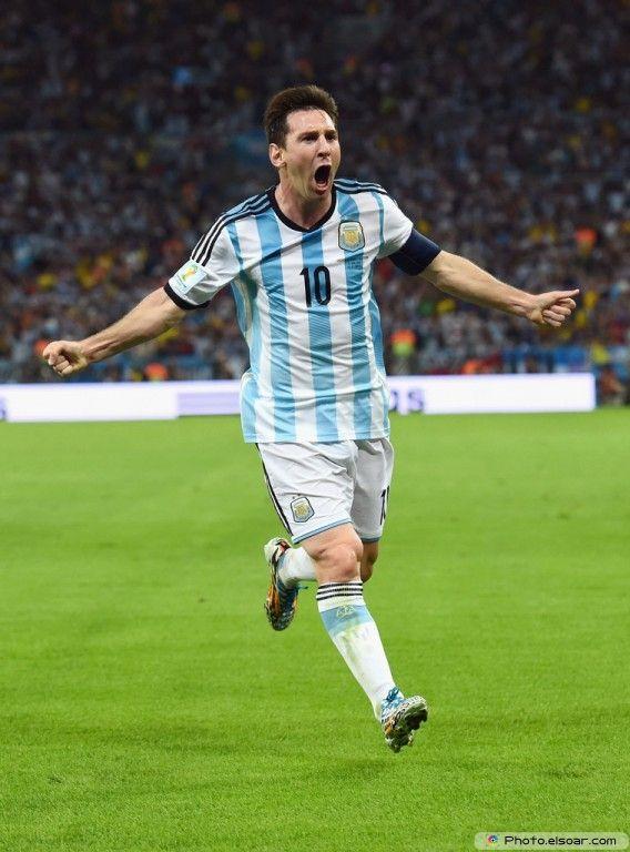 Lionel Messi Argentina 2014 Fifa World Cup Photo Wallpaper R