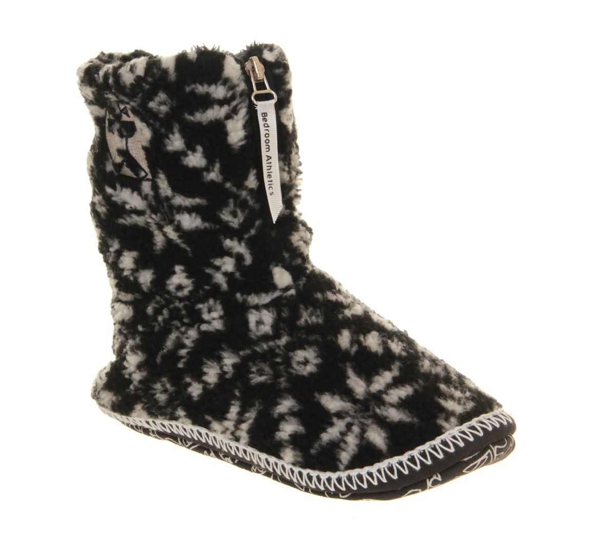 Womens Bedroom Athletics Jessica Slipper Boot Black Boots Http Pixiie