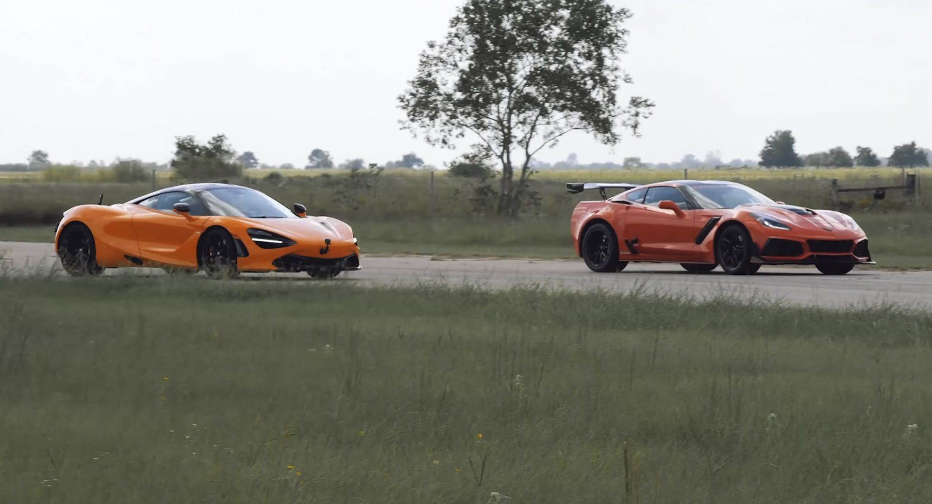 Watch Hennessey Corvette Zr1 Humiliating Mclaren 720s Corvette Zr1 Corvette Super Cars