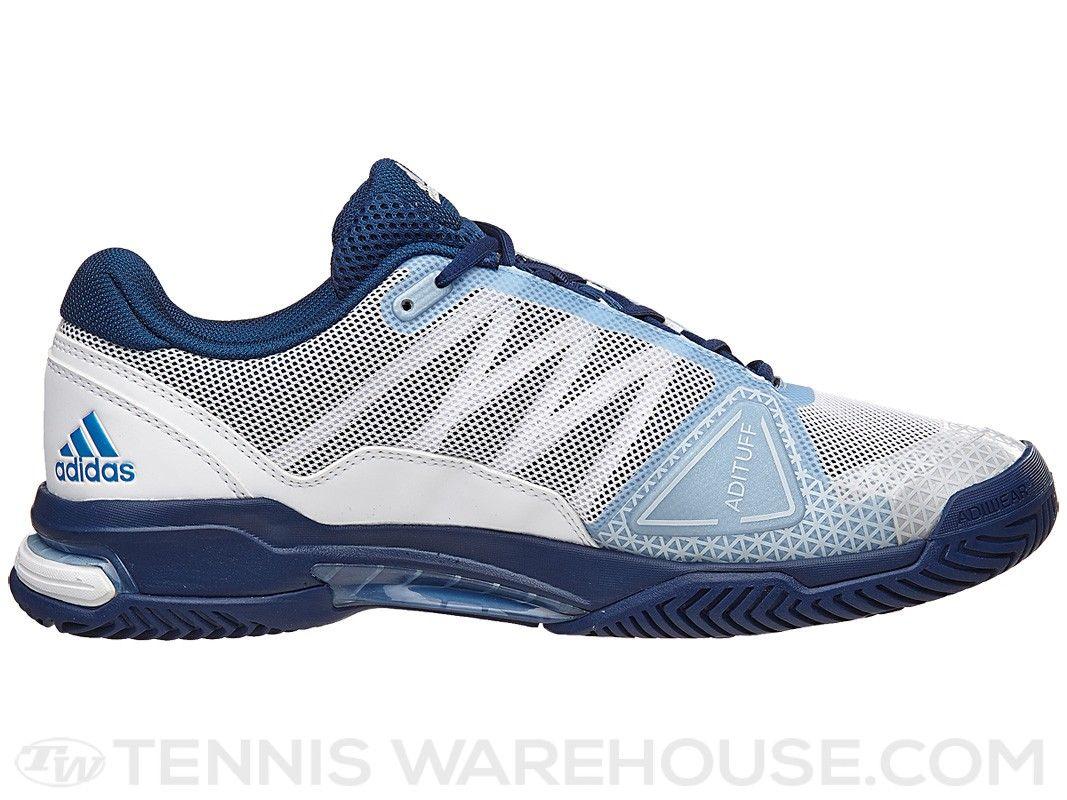 adidas Barricade Club White/Blue/Navy Men's Shoe