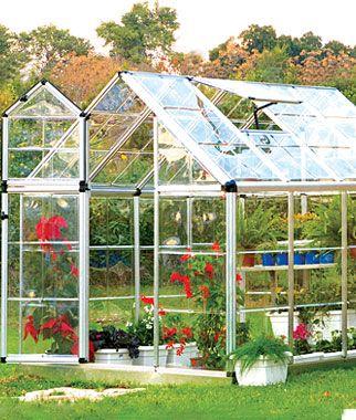 Snap N Grow Greenhouse 6 X 8 Backyard Greenhouse Traditional