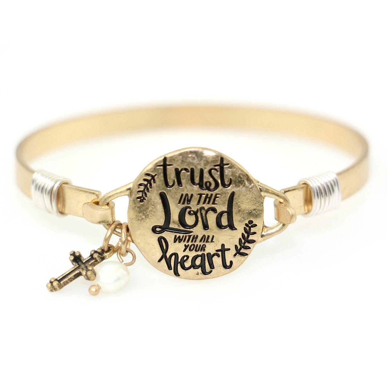 Trust christian bangle bracelet design worn gold cudmu in