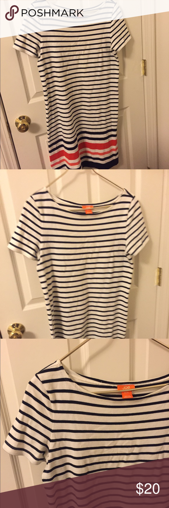 Joes sailor dress Striped dress, shift silhouette. Cute accent colors on the bottom. Material is quite thick! joes Dresses Mini