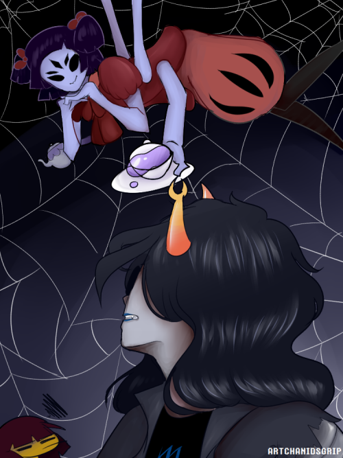 Everyone loves homestuck x undertale crossover stuff so here's my ...