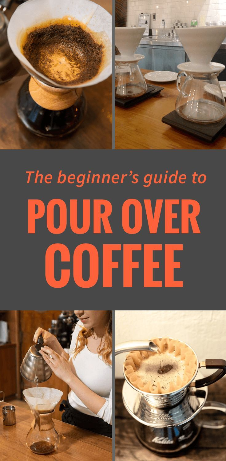 Pour Over Coffee: The Beginners Guide (Recipe + Brewing Tips)
