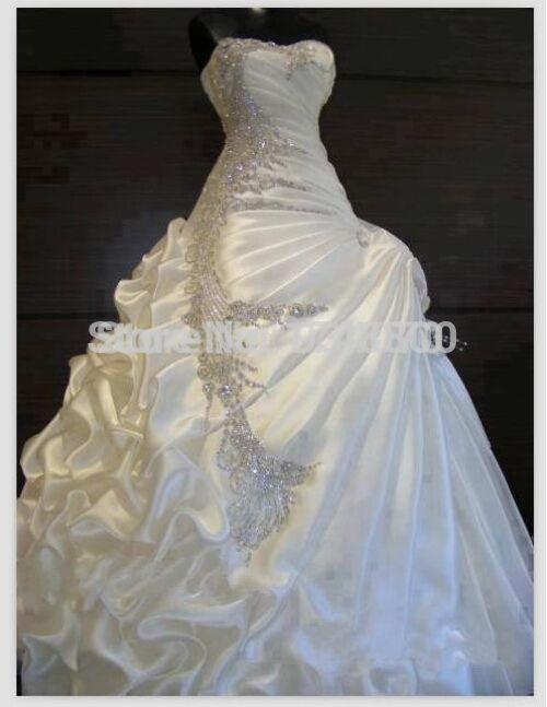 Günstige Beste Verkauf 2015 Brautkleider mit Strass Leichte Schatz ...