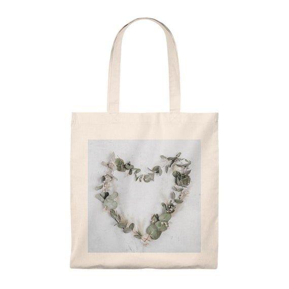 Photo of Eucalyptus wreath shopping bag