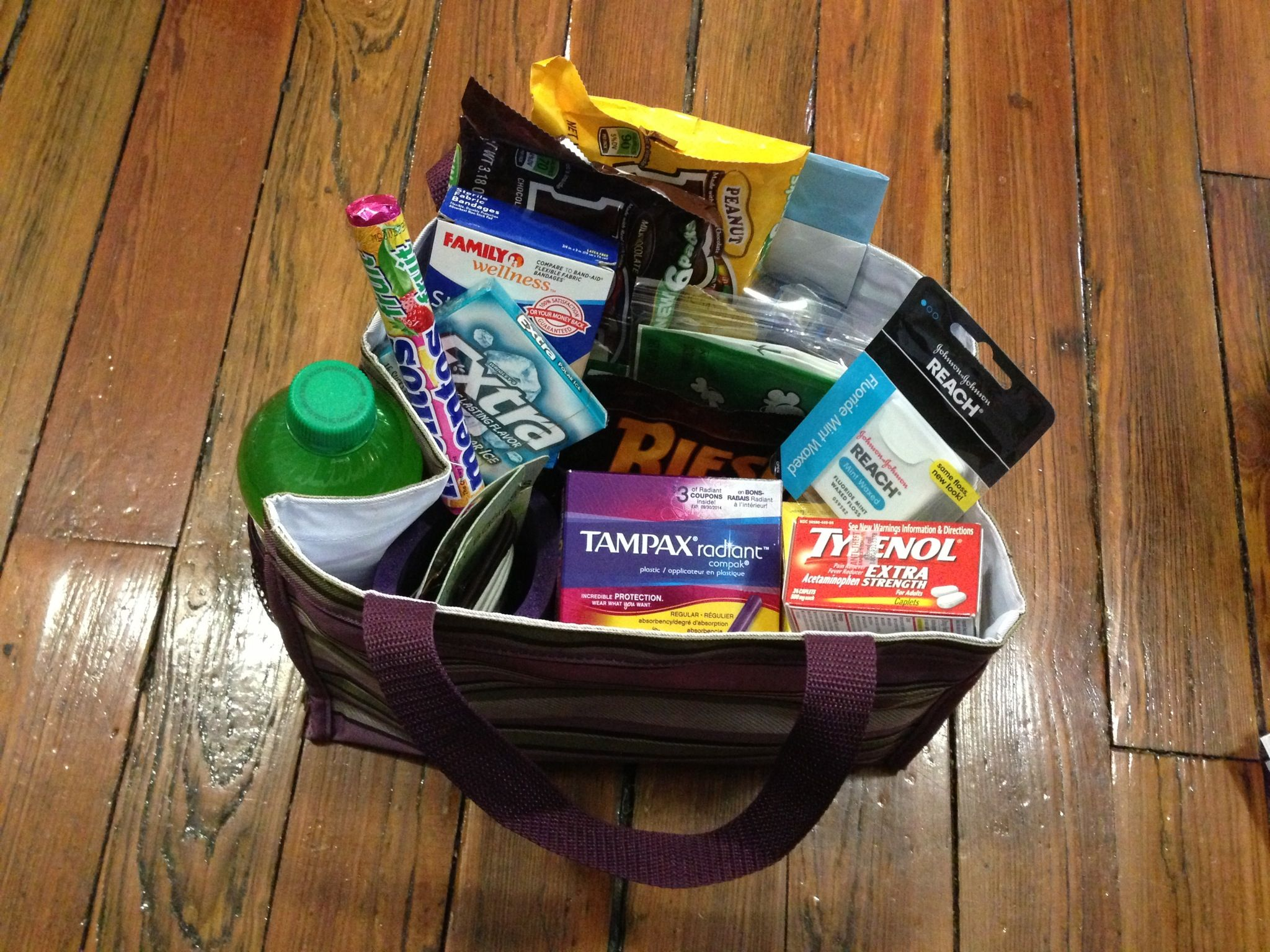 Going away gift bag for my co worker going to miss her like crazy