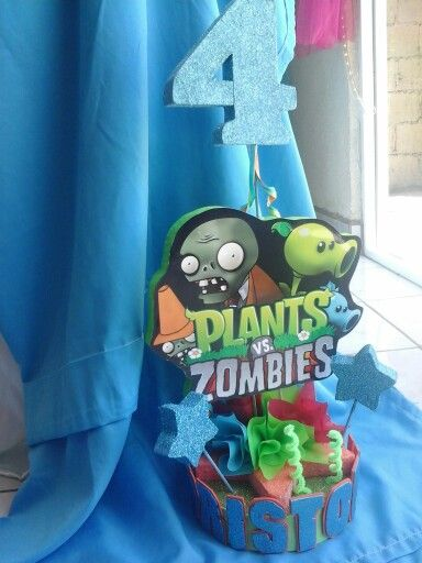 Decoraci n personalizada de plantas vs zombies for Decoracion con globos plantas contra zombies