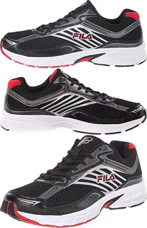 Fila Men's Xtenuate BlackDark SilverFila Red Sneaker 11.5