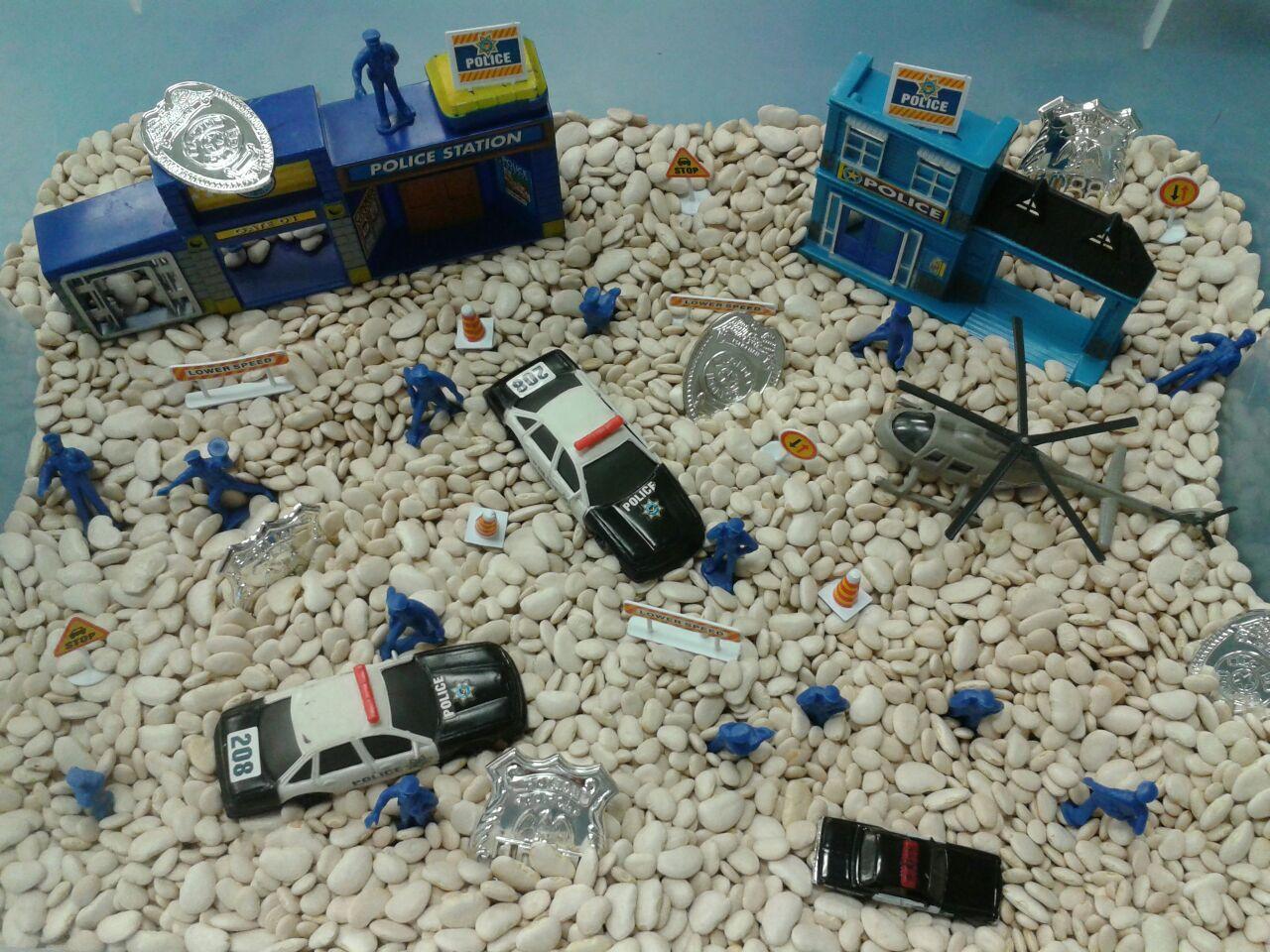 police sensory bin my sensory bins pinterest sensory boxes