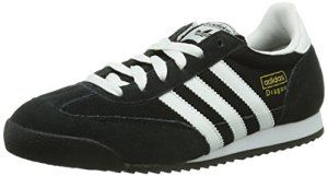 adidas Originals Dragon, Baskets mode homme – Noir (Noir1/Blanc/Ormét)