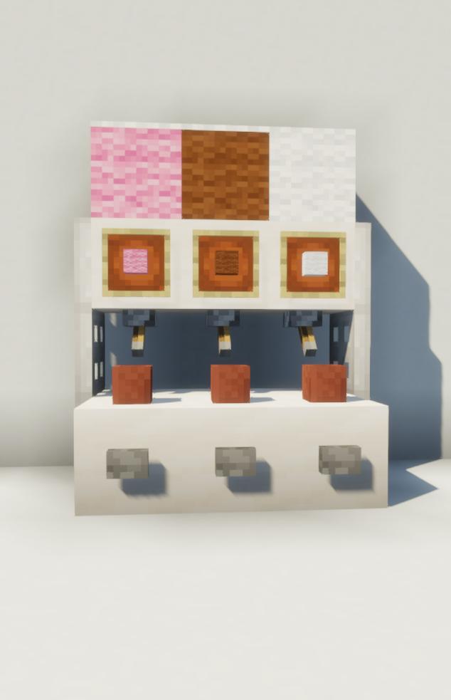 Minecraft Ice Cream Machine Idea