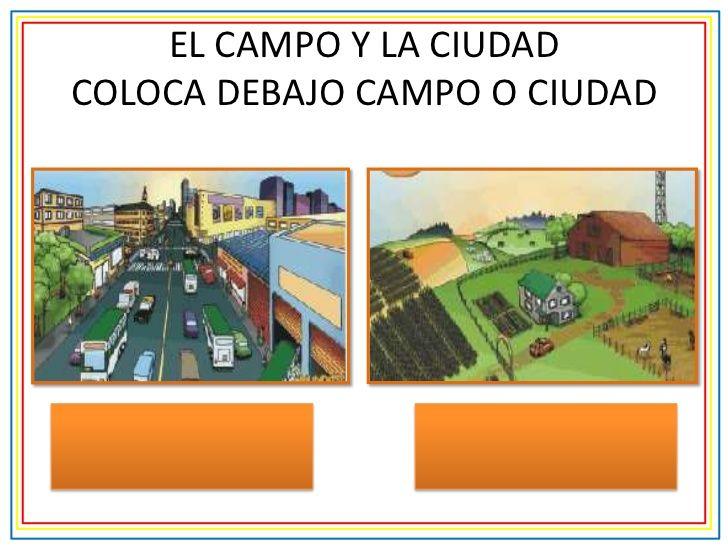 campo y ciudad para tercer grado - Buscar con Google ...