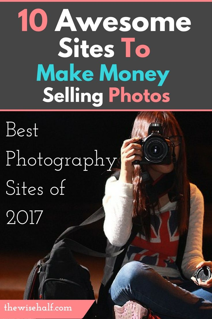 how to make money selling photos of yourself apps