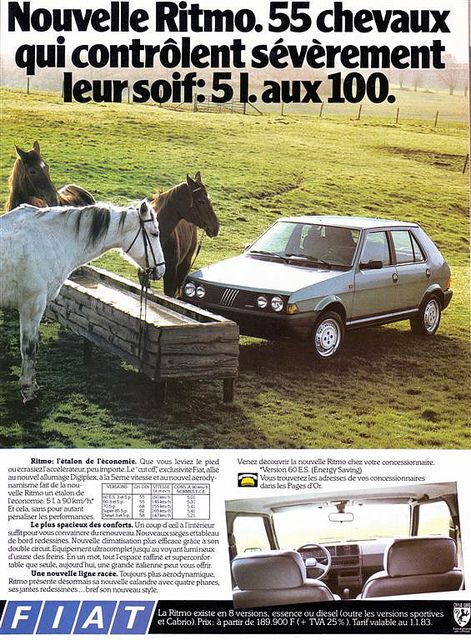 Fiat Ritmo 1983 Automobile E Steyr