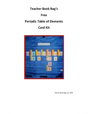 Tbb periodic table of elements card kit 030 education tbb periodic table of elements card kit 030 urtaz Choice Image