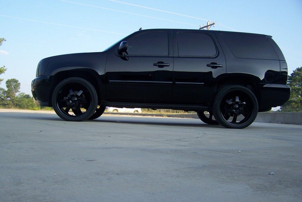 Blacked out Tahoe  wow Have you seen the 20122013 Tahoe www