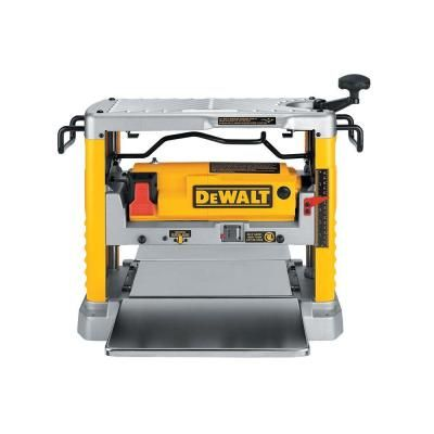 DEWALT 15 Amp 12-1/2 in. Corded Planer | Rugged Pioneer ... on home depot electric planer, home depot thickness planer, home depot cordless power tools, home depot bosch planer,