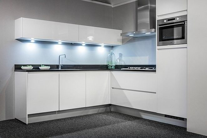 Moderne L Keuken : Moderne witte keuken l vorm kitchen ideas pinterest kitchens