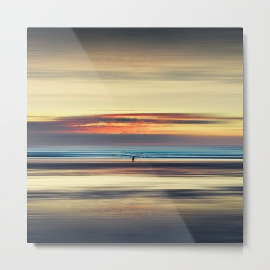Our Metal Prints Are Thin Lightweight And Durable 1 16 Aluminum Sheet Canvas The High Gloss Finish Enhances Color And Produce Metal Prints Abstract Seascape