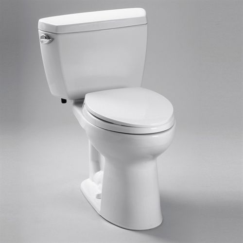 Toto Cst744sg 01 Drake 1 6 Gpf Two Piece Elongated Toilet