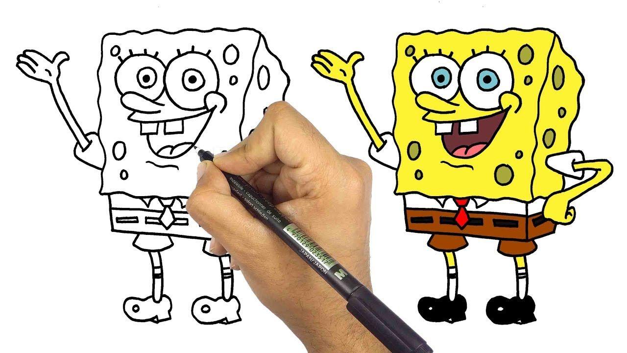 رسم سبونج بوب بالخطوات Vault Boy Bart Simpson Character