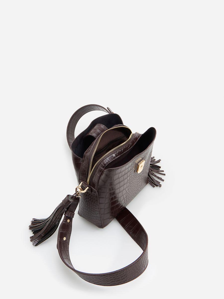 Kupuj Online Fakturowana Torebka Z Fredzlami Reserved Yw267 89x Women Handbags Handbag Baby Shoes