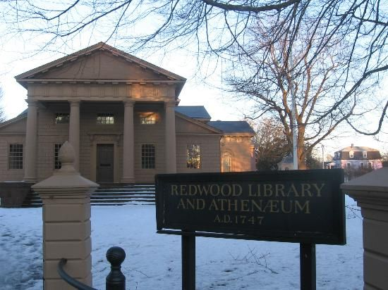 Redwood Library Athenaeum Little Rhody Pinterest Newport