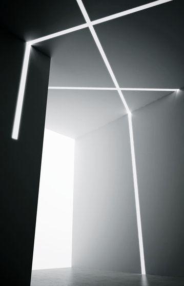 Panzeri Xg2041 Trim Profile Recessed Wall Lights Led Light Design Lighting Design Interior