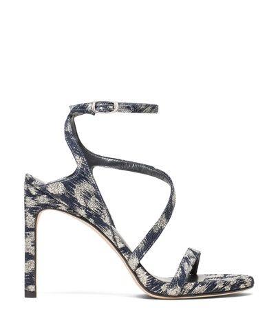 stuart weitzman sultry sandal in denim heel… with images
