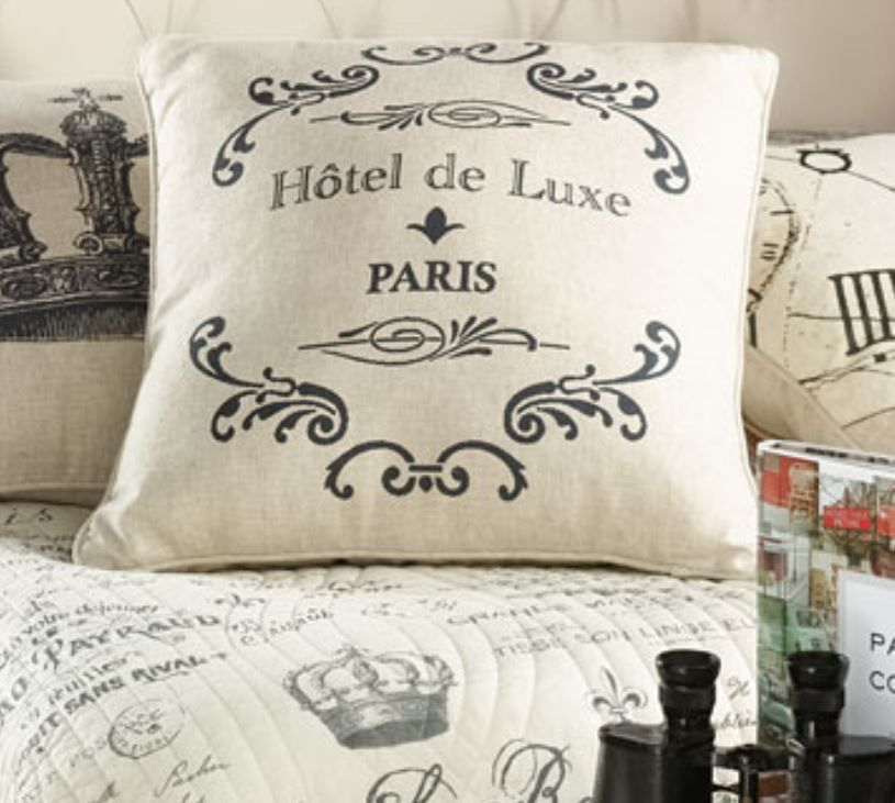 Paris French Hotel De Luxe Pillow In 2020 With Images Hotel