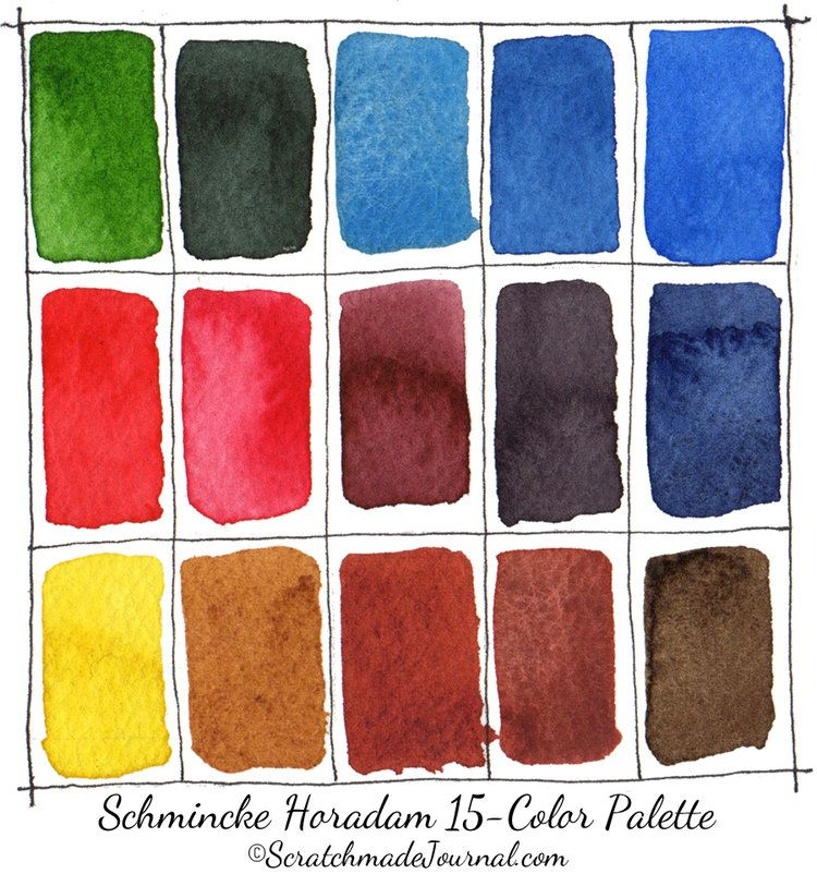 Schmincke Horadam Watercolor Review Aquarell